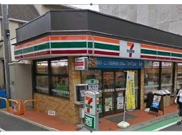 コンビ二:セブンイレブン 世田谷喜多見駅前店 464m
