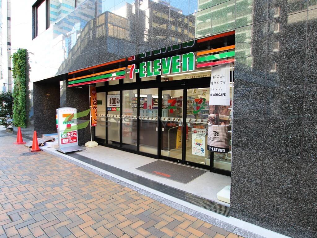コンビ二:セブンイレブン 中央区新川1永代通店 473m