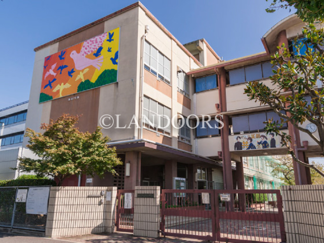 中学校:名古屋市立今池中学校 528m