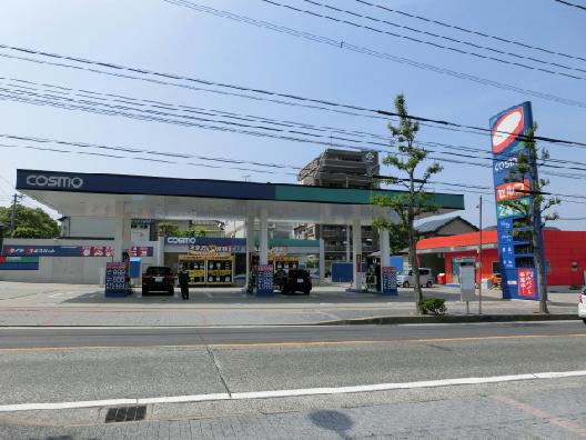 その他:コスモ石油ガソリンスタンド 720m