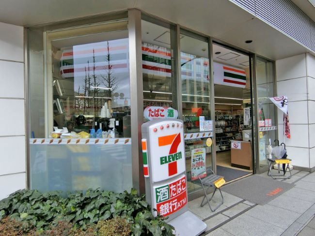 コンビ二:セブンイレブン 日本橋1丁目昭和通り店 123m