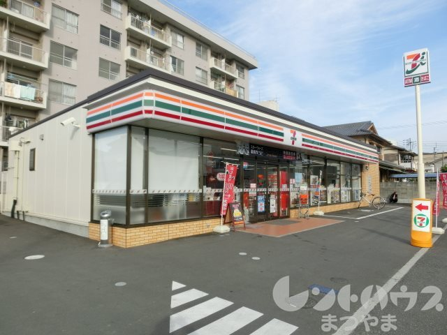 コンビ二:セブンイレブン 松山勝山町1丁目店 590m