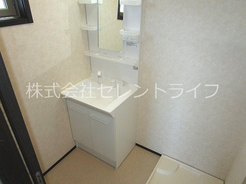 洗面スペース(洗面化粧台・洗濯機置き場)