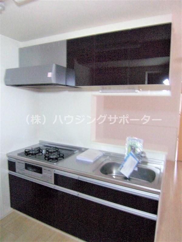 システムキッチンでカウンターキッチンです
