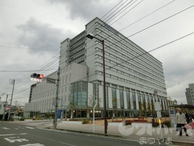 総合病院:愛媛県立中央病院 1255m
