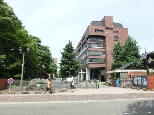 大学・短大:私立松山大学 355m