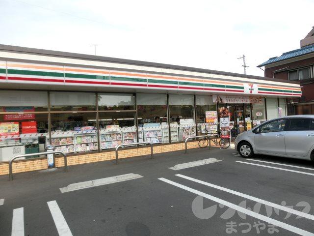 コンビ二:セブンイレブン 松山大学前店 437m
