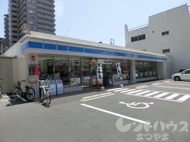コンビ二:ローソン 勝山二丁目店 215m
