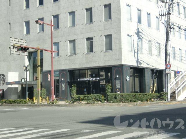 レストラン:スターバックスコーヒー 松山市駅前店 456m
