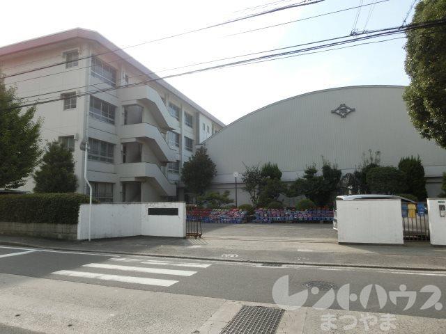 小学校:松山市立石井小学校 316m