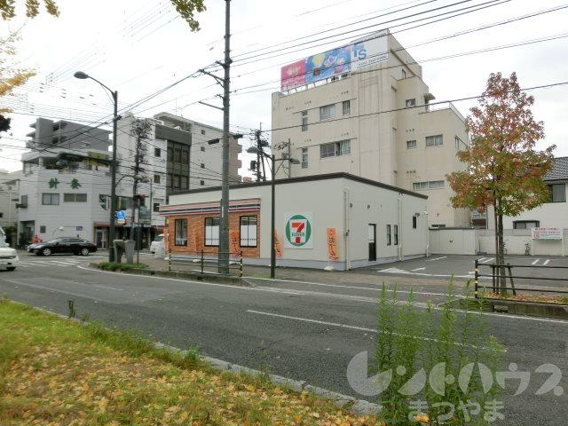コンビ二:セブンイレブン 松山平和通1丁目店 220m