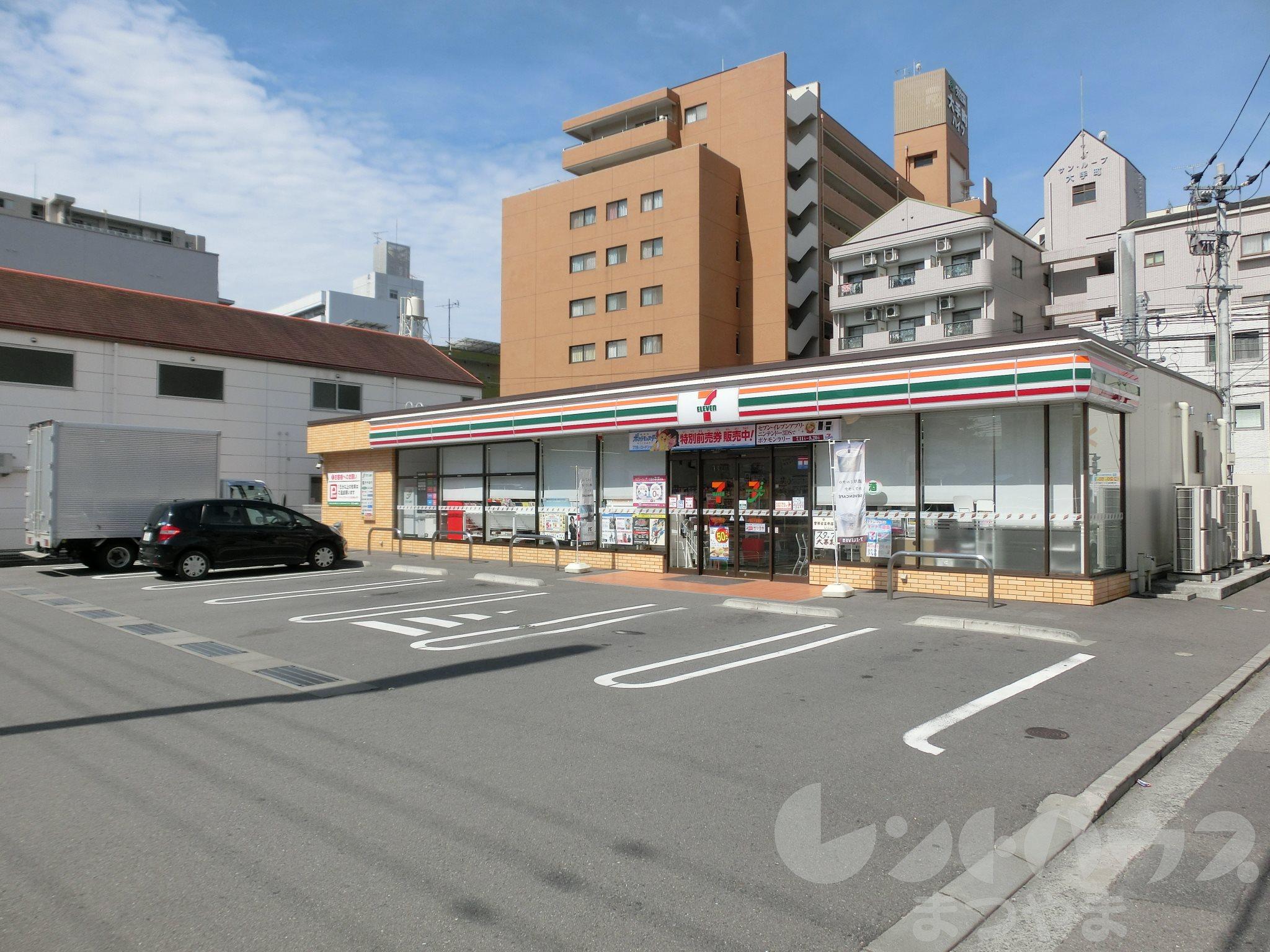 コンビ二:セブンイレブン 松山大手町店 435m