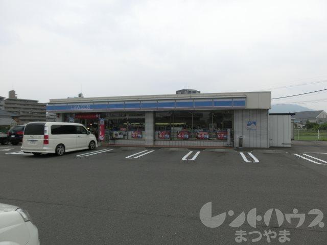 コンビ二:ローソン 松山福音寺バイパス店 987m