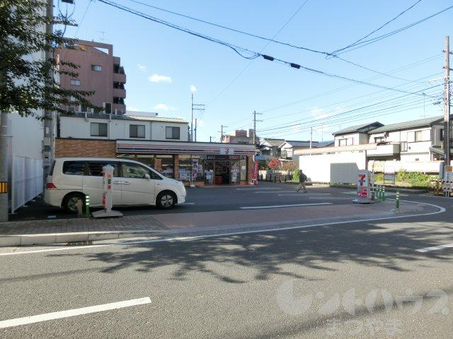 コンビ二:セブンイレブン 松山清水町1丁目店 223m