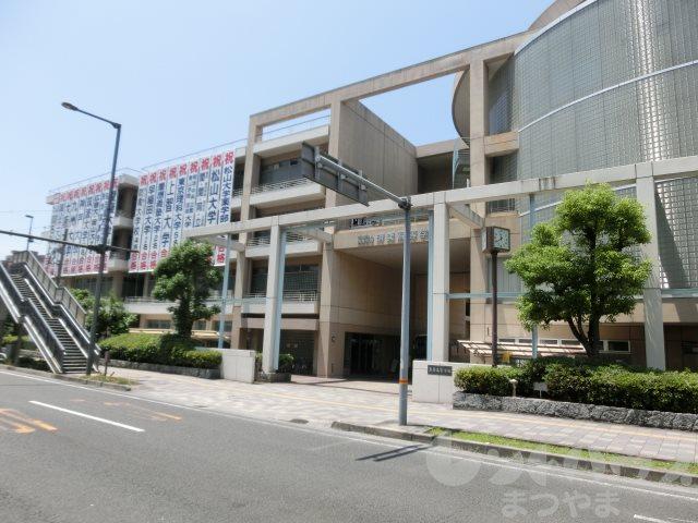高校・高専:私立済美高校 257m