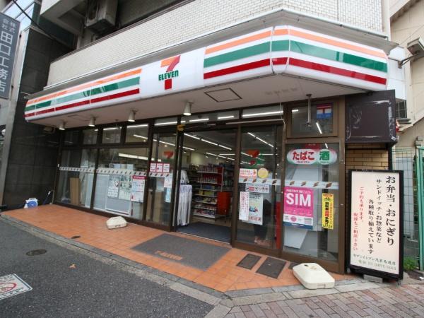 コンビ二:セブンイレブン 浅草馬道店 152m