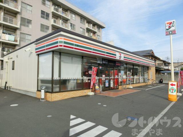 コンビ二:セブンイレブン 松山小坂2丁目店 386m
