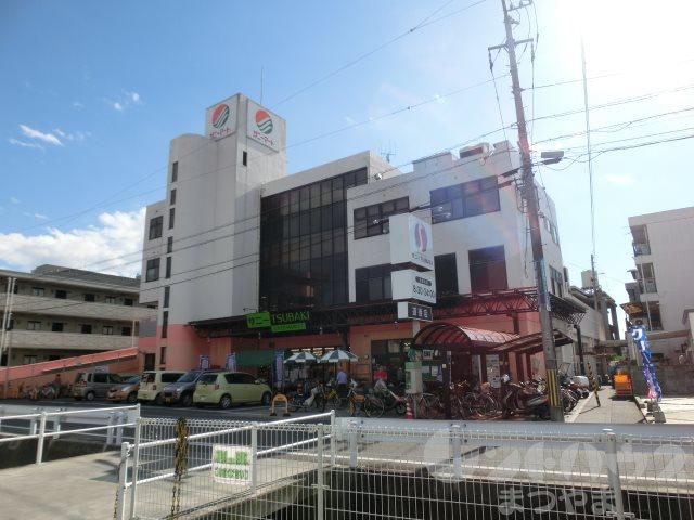 スーパー:サニーTSUBAKI 道後店 627m