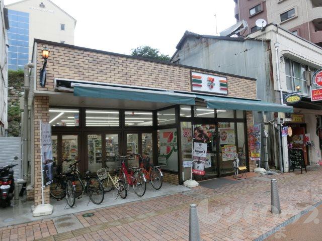 コンビ二:セブンイレブン 松山城ロープウェイ街店 240m