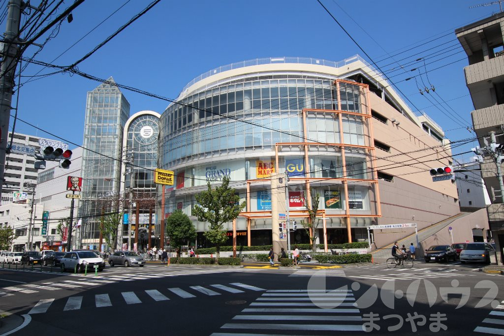 ショッピング施設:フジグラン松山 597m