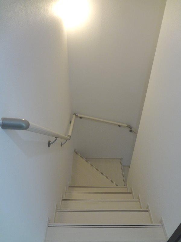 屋内階段。