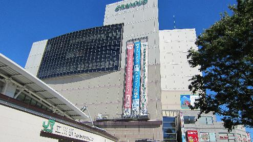ショッピング施設:GRANDUO (グランデュオ) 立川 631m