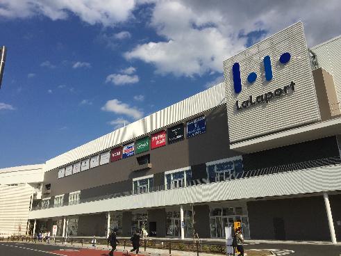 ショッピング施設:ららぽーと立川立飛 2492m