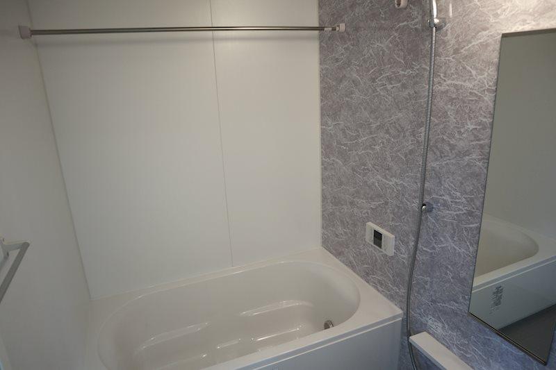 デザイン性の高いお風呂。