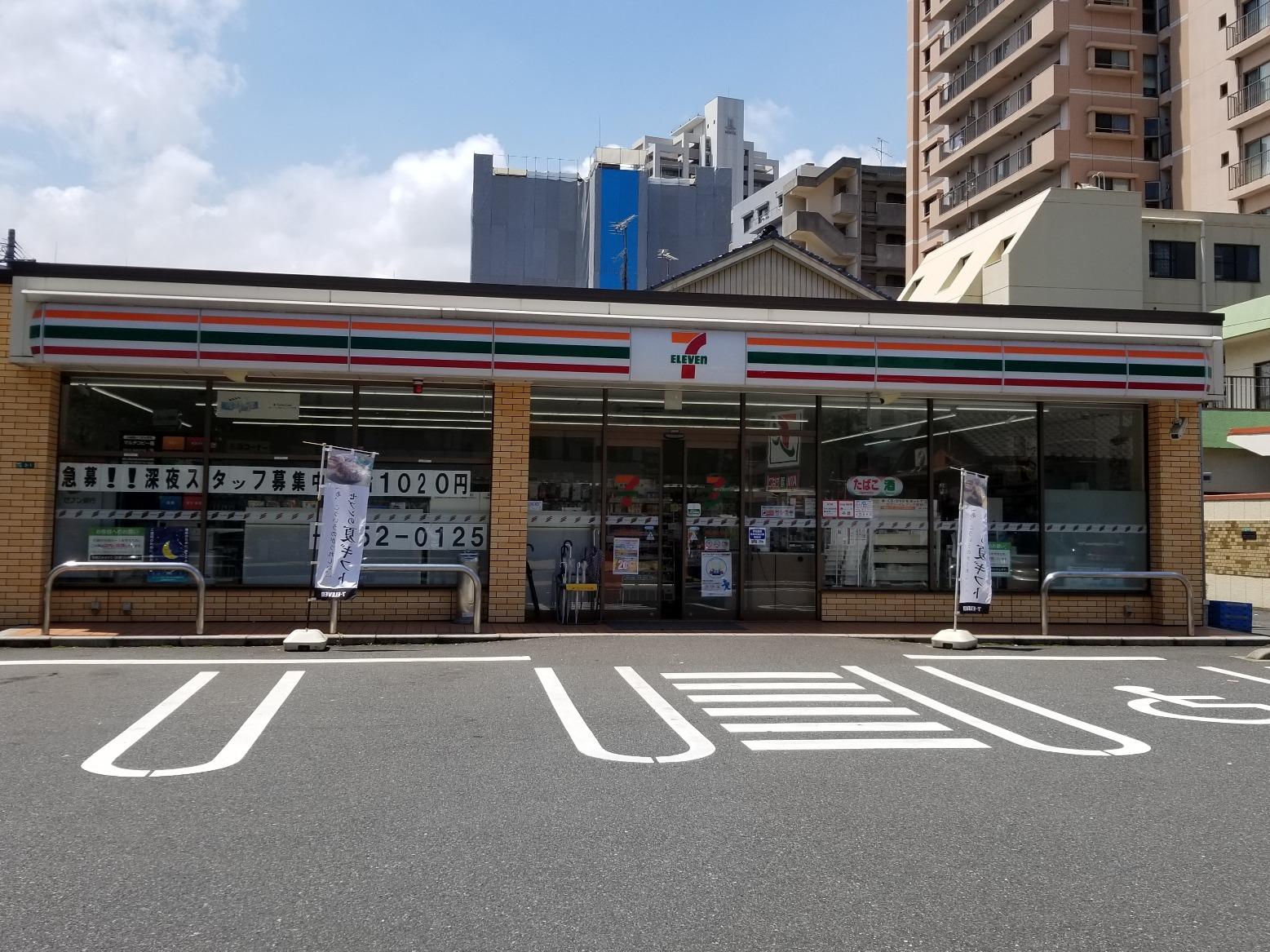 コンビ二:セブンイレブン 小倉香春口2丁目店 109m