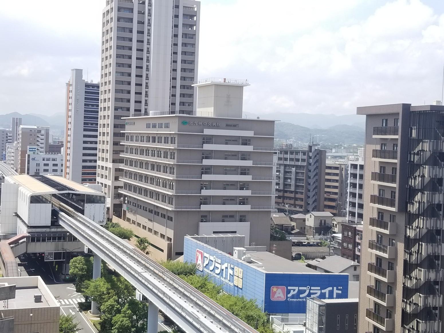総合病院:北九州中央病院 262m