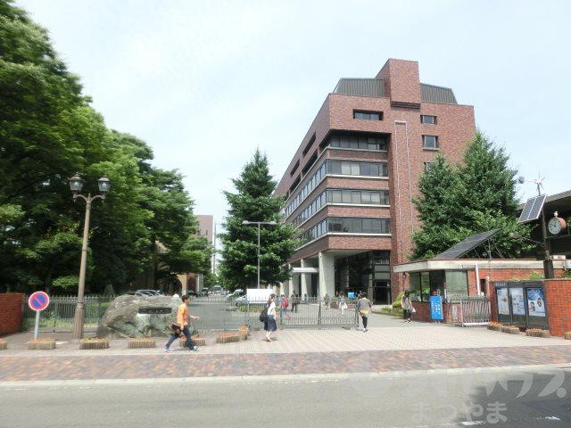 大学・短大:私立松山大学 443m