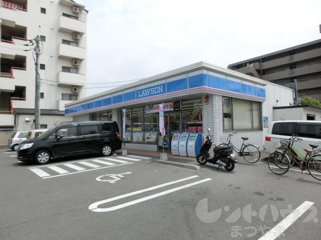 コンビ二:ローソン 松山清水町三丁目店 355m
