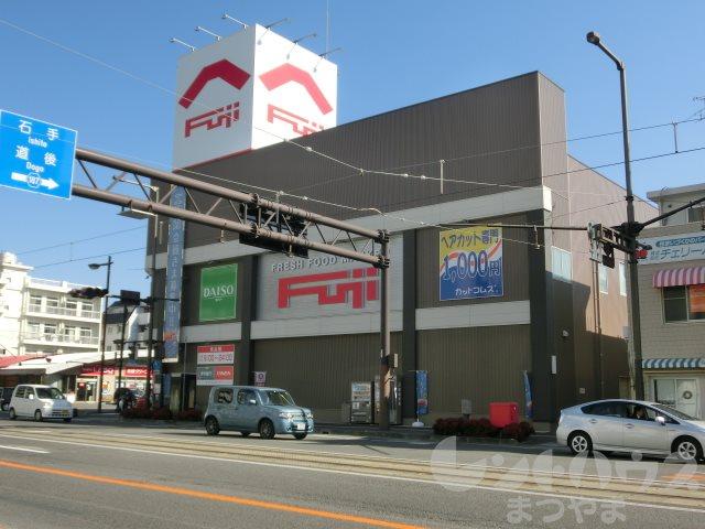 スーパー:フジ 本町店 496m