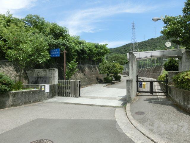 中学校:松山市立桑原中学校 1466m