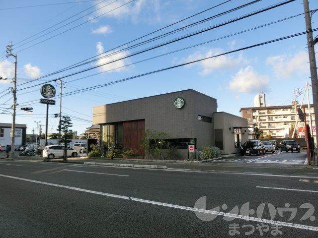 レストラン:スターバックスコーヒー 松山中央店 488m