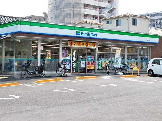 コンビ二:ファミリーマート 江東石島店 436m
