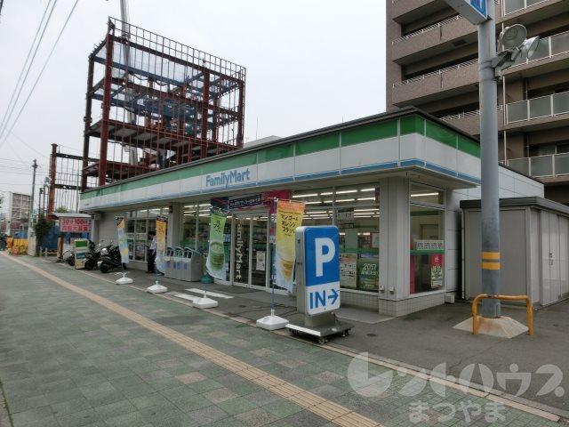 コンビ二:ファミリーマート 松山市民病院前店 269m