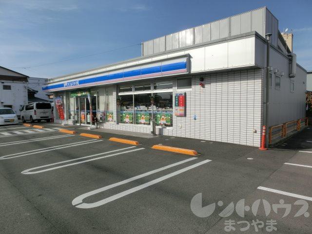 コンビ二:ローソン 松山朝生田町二丁目店 203m