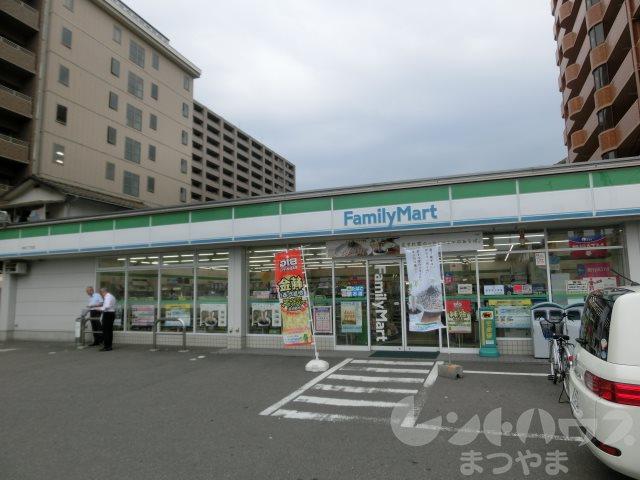 コンビ二:ファミリーマート 道後北代店 286m