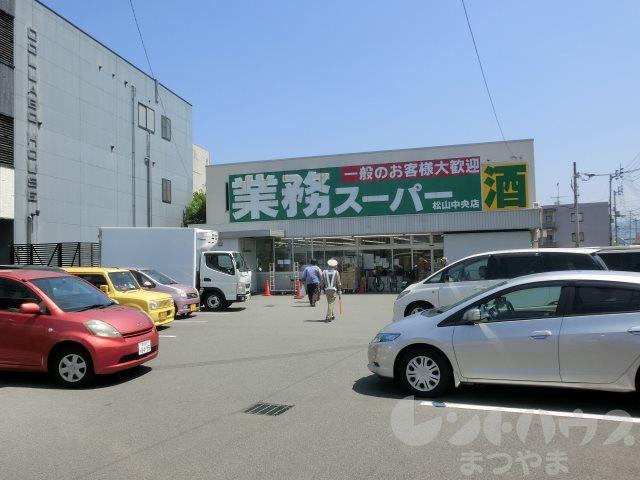 スーパー:業務スーパー 松山中央店 739m