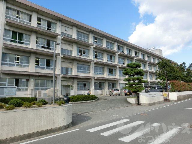 中学校:松山市立南第二中学校 901m