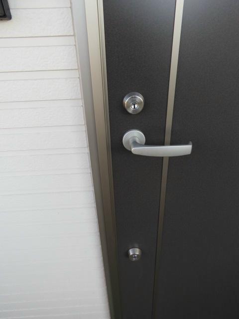 玄関ディンプルキーダブルロック