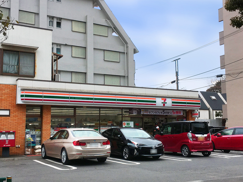 コンビ二:セブンイレブン 世田谷赤堤2丁目店 152m