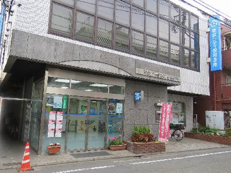 銀行:東京シティ信用金庫豪徳寺支店 351m