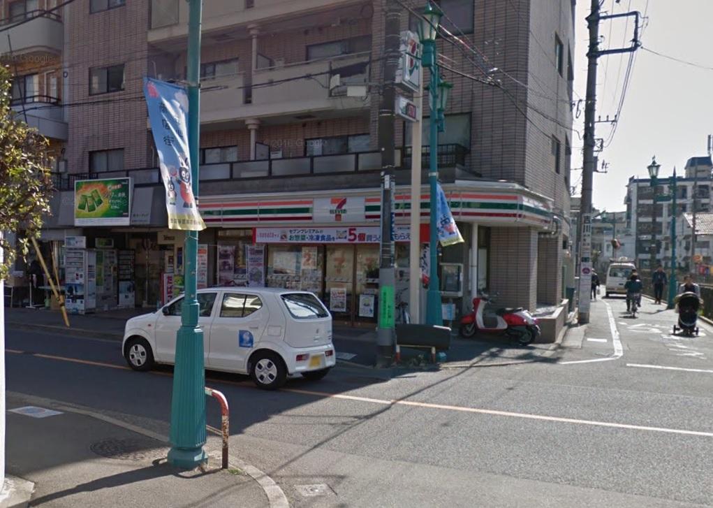 コンビ二:セブンイレブン 世田谷松原駅前店 288m