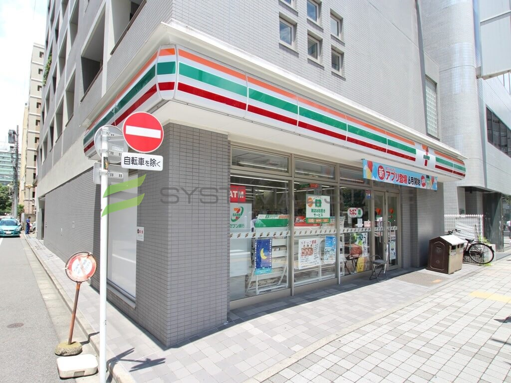 コンビ二:セブンイレブン 日本橋人形町3丁目店 201m
