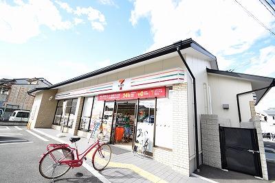 コンビ二:セブンイレブン 京都馬代一条店 438m