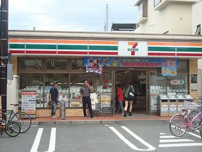 コンビ二:セブンイレブン 京都JR円町駅前店 653m
