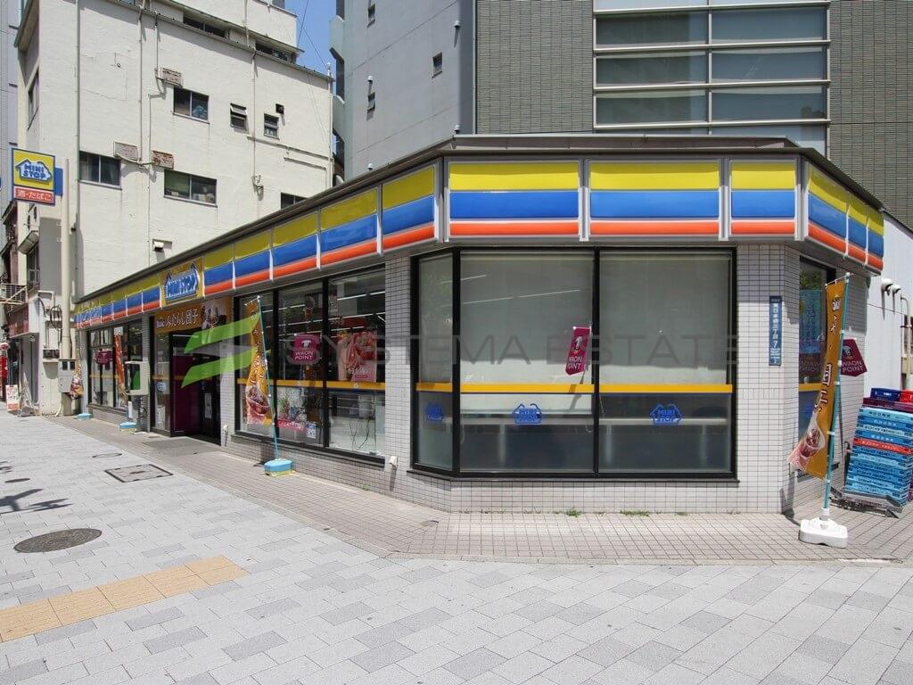 コンビ二:ミニストップ 東日本橋3丁目店 142m