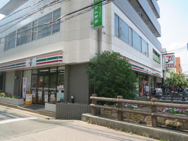 コンビ二:セブンイレブン 茨木宮元町店 189m